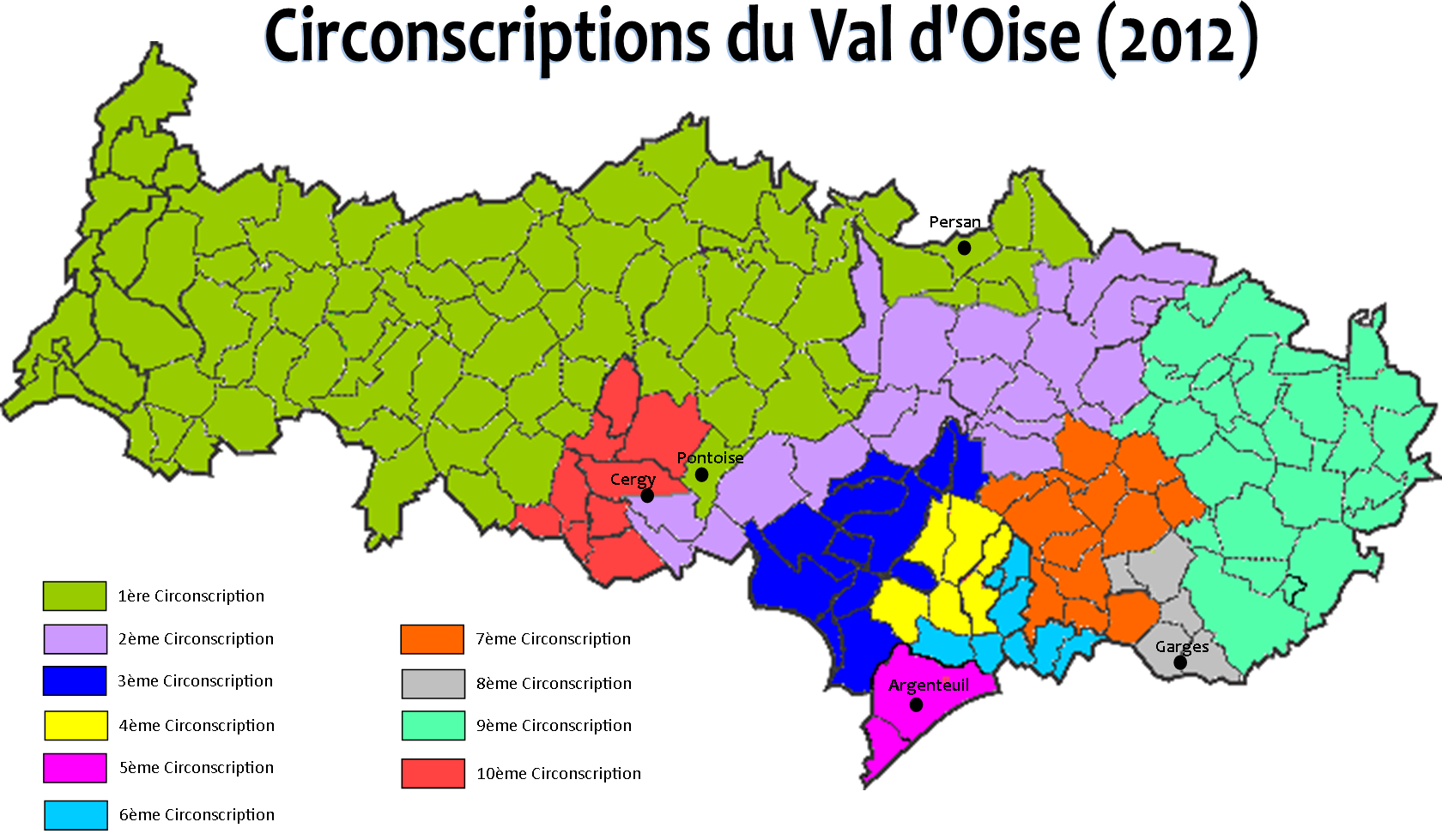 carte circonscription val d oise Carte De 95 | My blog