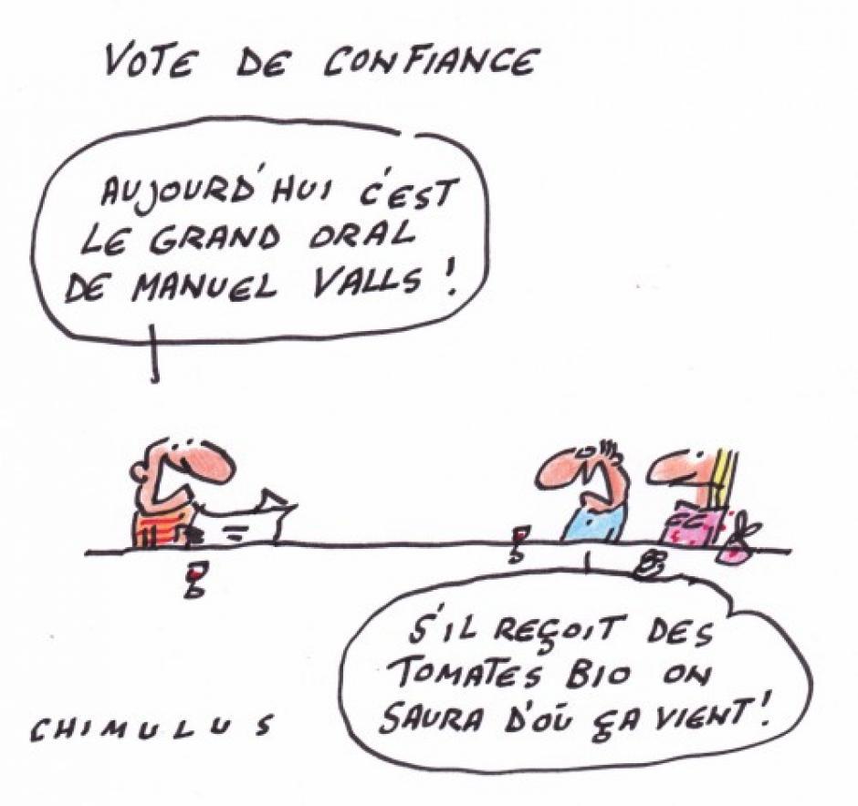 Déclaration de Jean-Michel Ruiz, Secrétaire départemental du PCF95 sur le vote de confiance