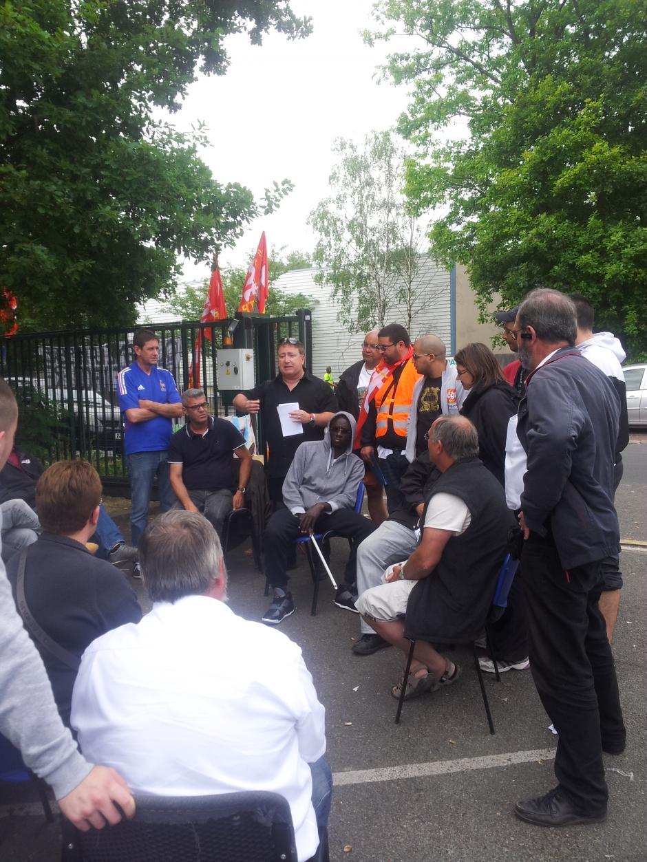 Déclaration de Jean-Michel Ruiz, en soutien aux salariés de la PAM95