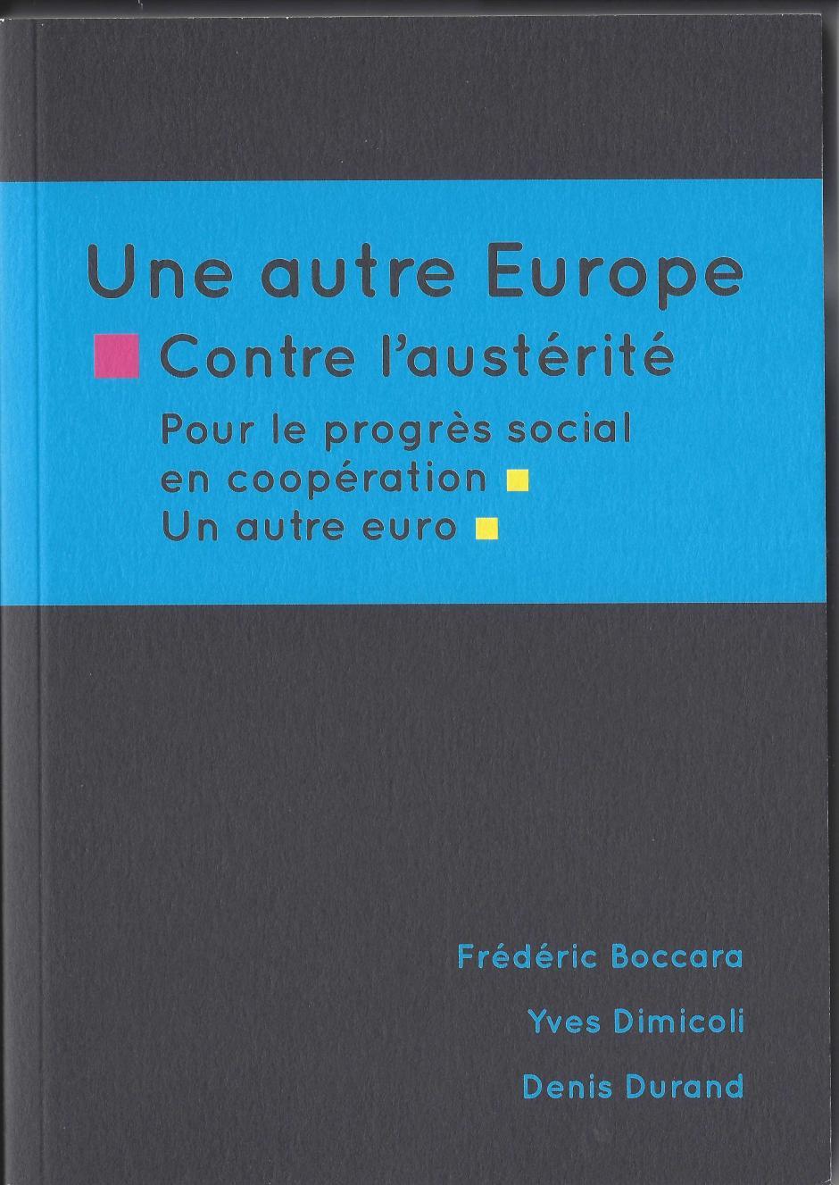 Une autre Europe contre l'austérité