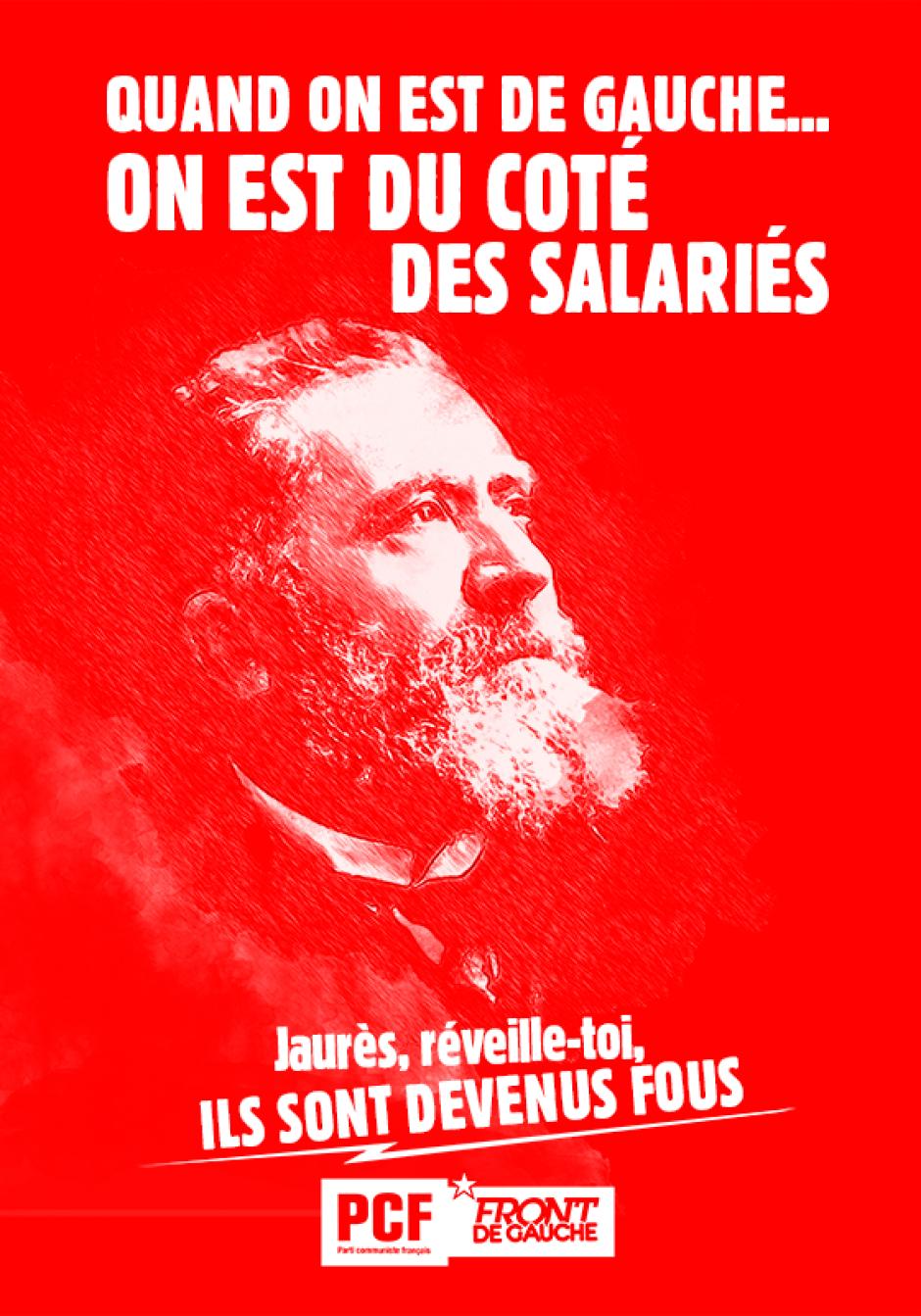 Déclaration du PCF95 à l'occasion de l'anniversaire de la mort de Jean Jaurès